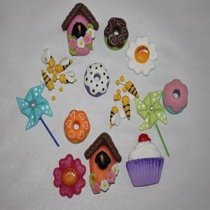 Miniaturas em Biscuit