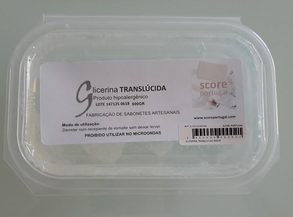 SABONETES|GLICERINA TRANSLÚCIDA 600GRS